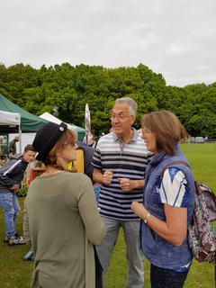 Peter Jones at Hyde Heath Fete, 13 May 2017